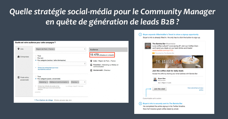 Strategie social-media B2B