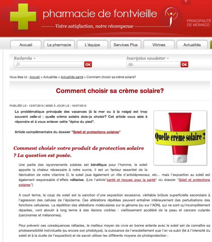 Blog Fontvieille