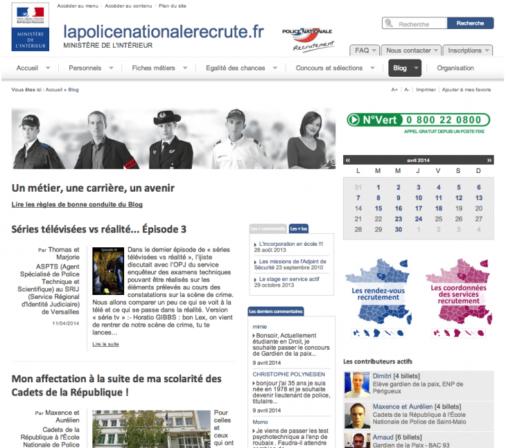 Blog Police Nationale