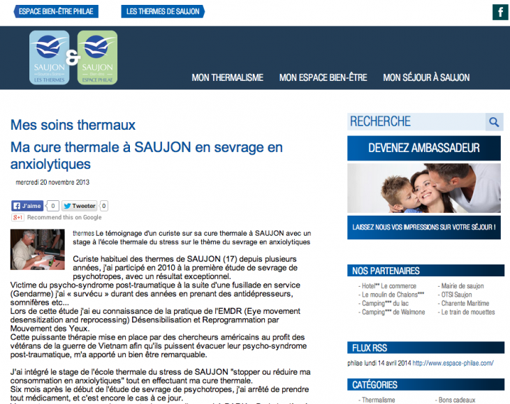 Blog Thermes Saujon