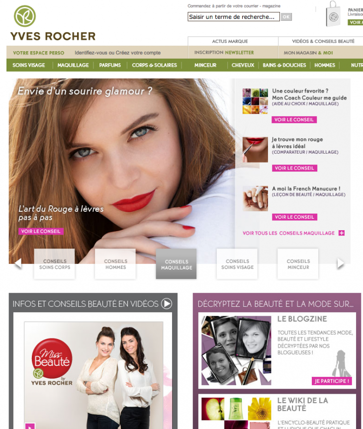 Conseils Yves Rocher France