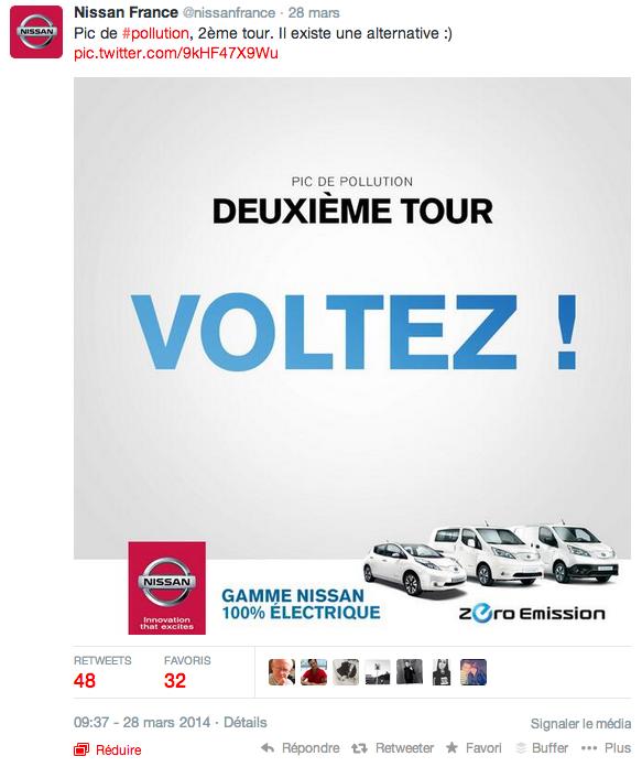 Nissan - Voltez