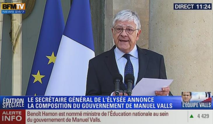 Nomination Gouvernement Valls