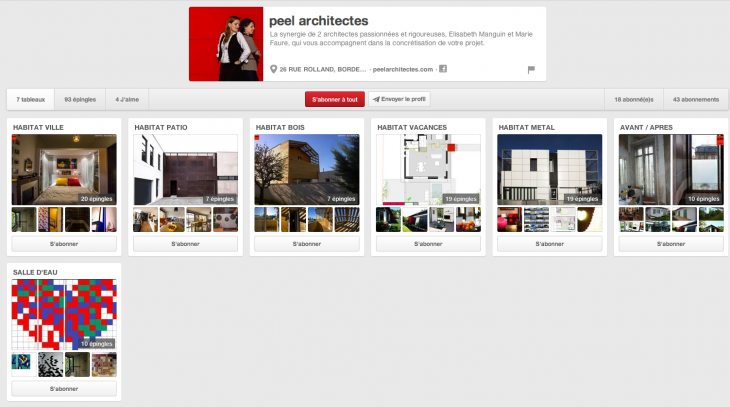 Pinterest Architectes