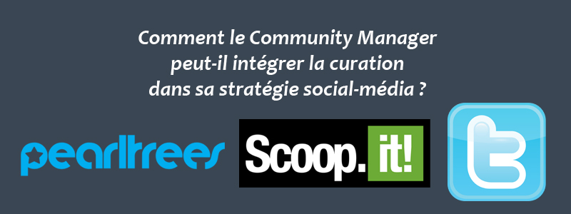 Stratégie social-média & Curation