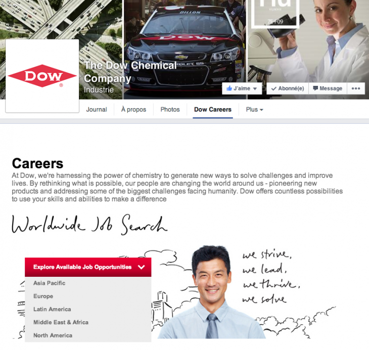 Application Facebook - Job Board
