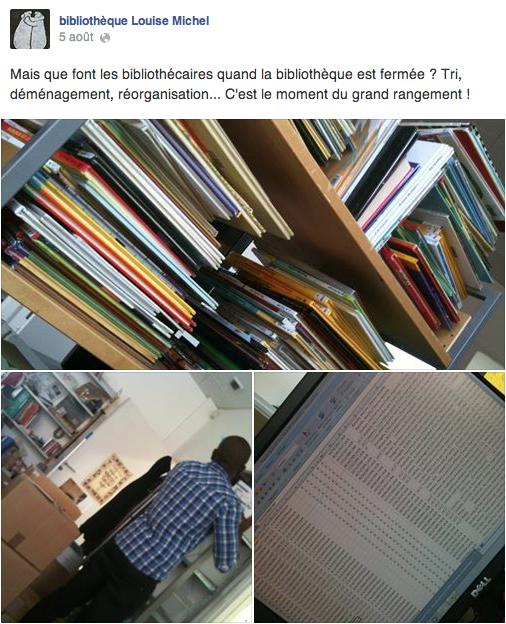 Bibliothèque Louise Michel 3