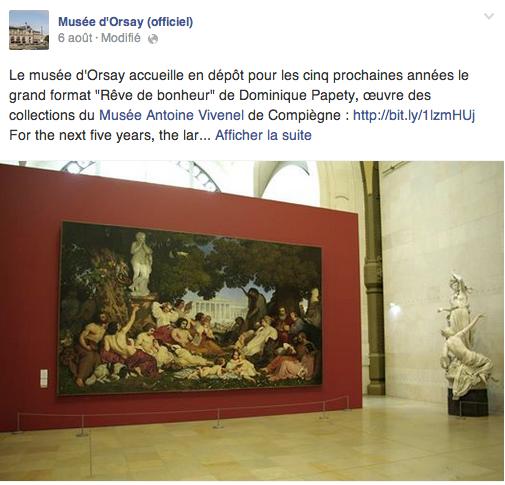 Musée D'Orsay - Oeuvres présentes