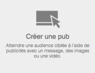 Creer publicite Linkedin
