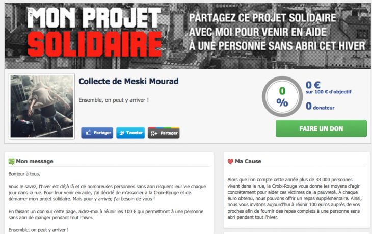 Projet solidaire