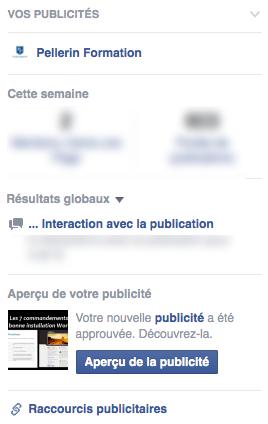 Pub Facebook Encart