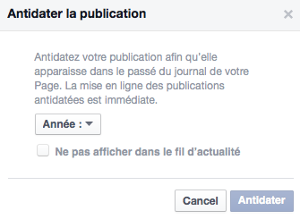 Anti-dater Facebook 2
