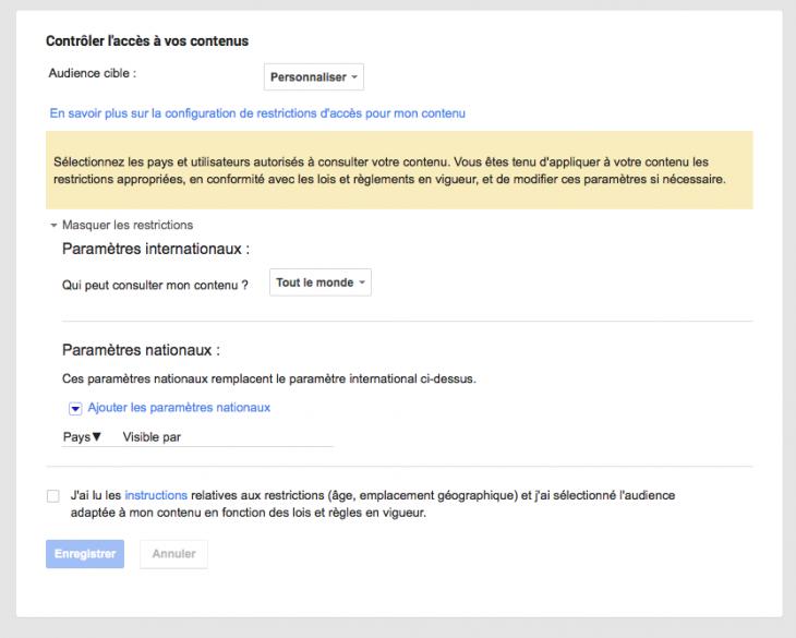 Confidentialite Google Plus