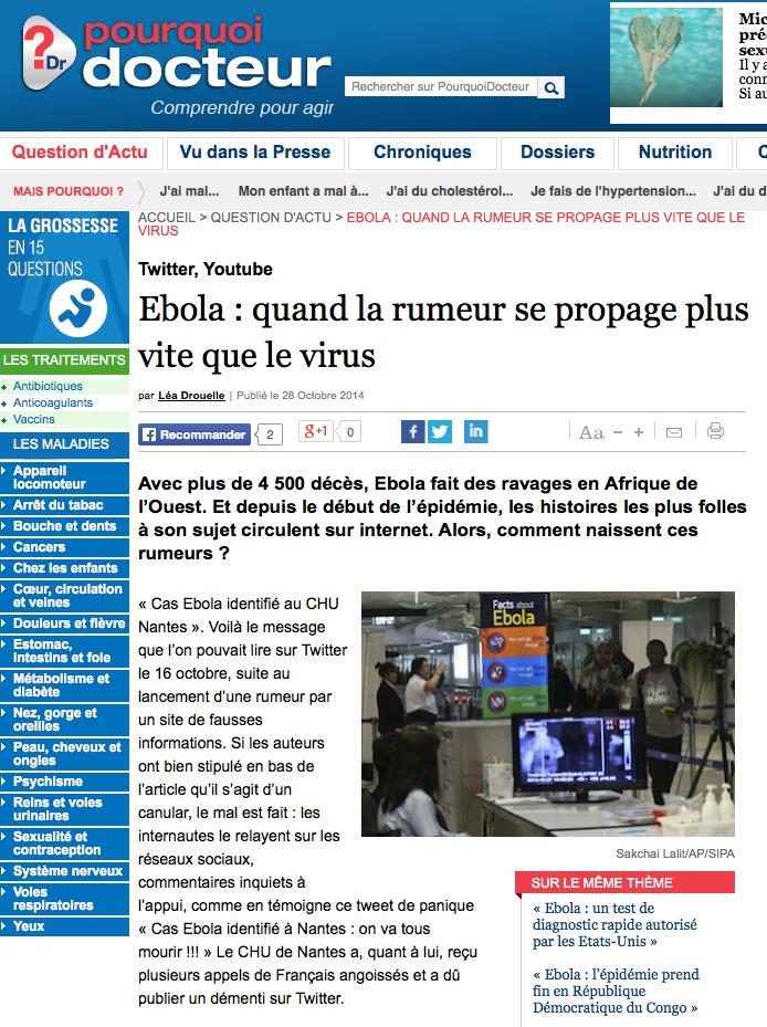 CHU Nantes Ebola