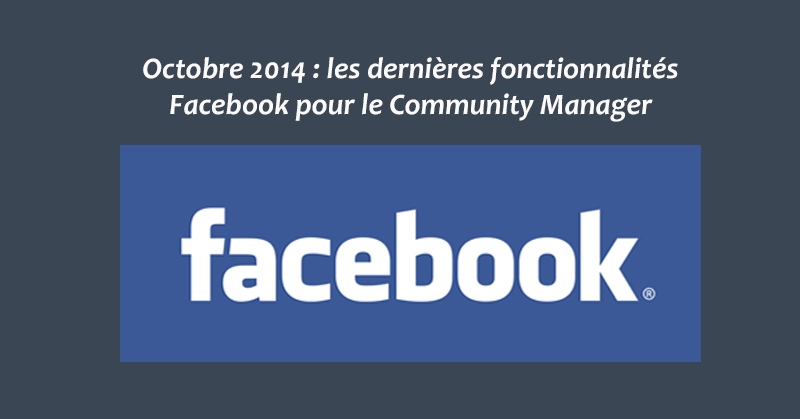 Facebook Octobre 14