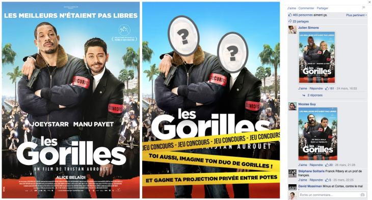 Les Gorilles - Formation reseaux sociaux