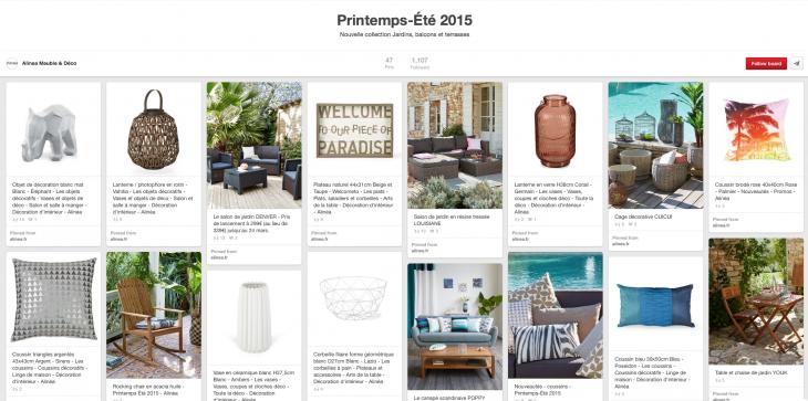 Alinea sur Pinterest - Formation reseaux sociaux