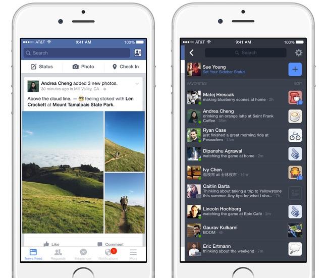 Barre laterale Facebook - Formation reseaux sociaux
