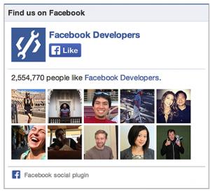 Like Box Facebook - Formation reseaux sociaux
