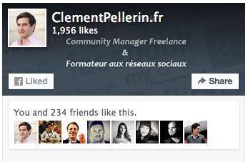 Page Plugin Facebook - Formation reseaux sociaux