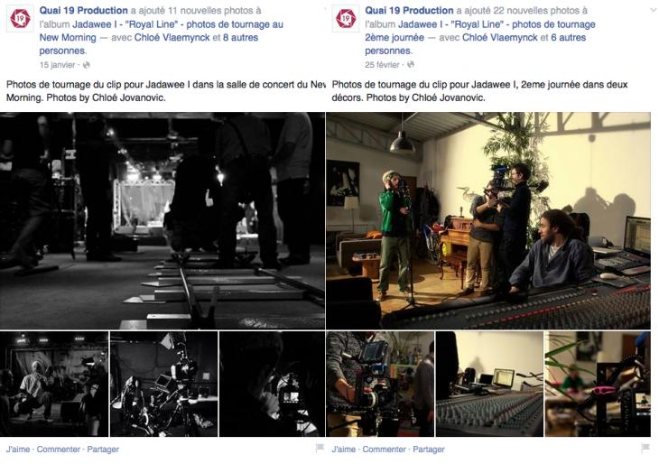 Photos de tournage - Quai 19 Production - Formation reseaux sociaux