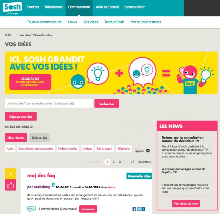 Sosh Forum - Formation reseaux sociaux
