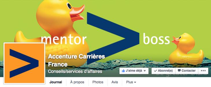 Accenture RH Facebook