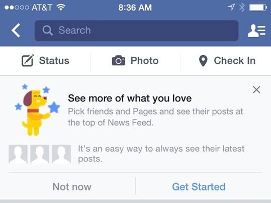Selection Amis Facebook - Formation reseaux sociaux