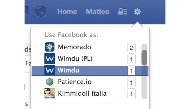 Multi-pages Facebook