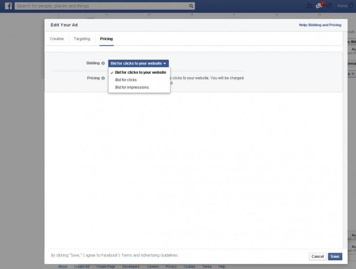 Publicité Facebook 1