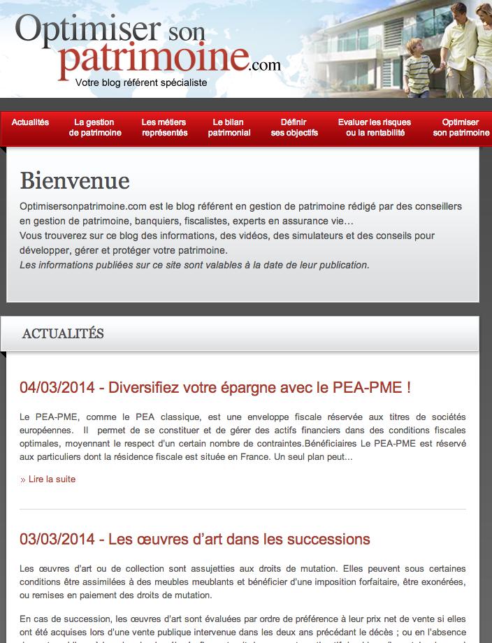 Blog Banque Palatine