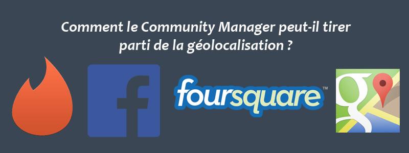 Géolocalisation - Community Manager
