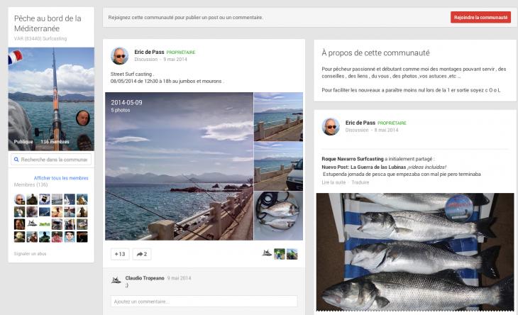 Communautés Google +