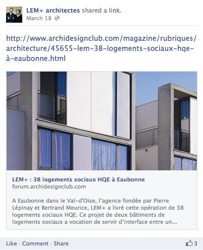 LEM+ Architectes