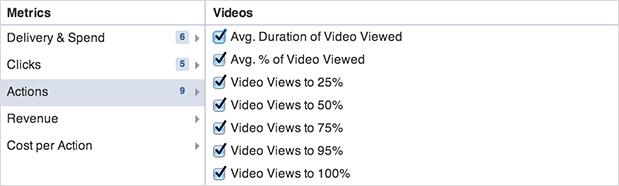Statistiques vidéo