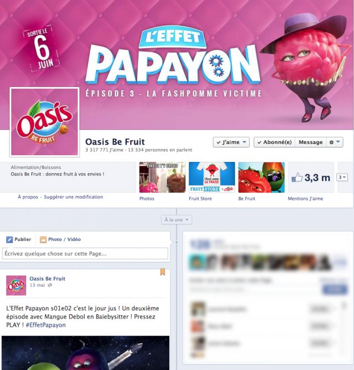 Page Fan Oasis