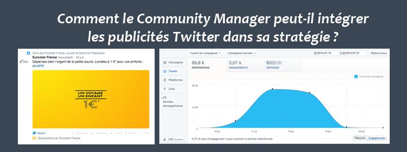 Intégrer les publicités Twitter dans la stratégie social-média du Community Manager
