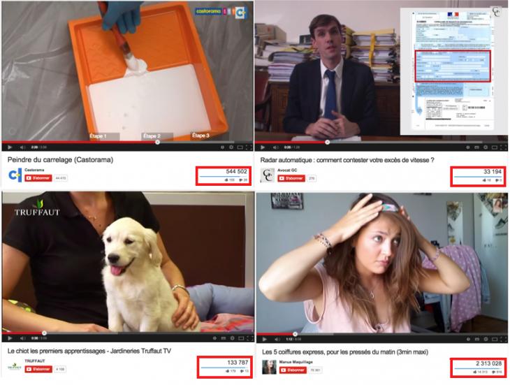 Tutoriels Youtube