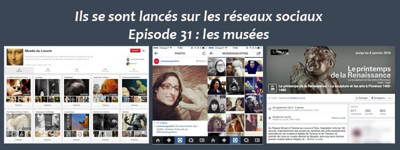 Les musées sur les réseaux sociaux