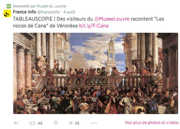 Musée du Louvre France Inter