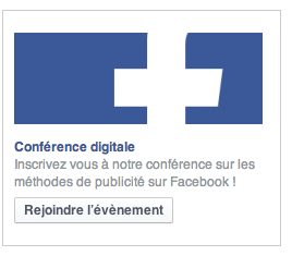 Sponsoriser un évènement Facebook
