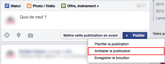 Anti-dater Facebook