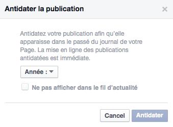 Antidater Facebook 2