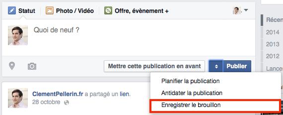 Antidater Facebook