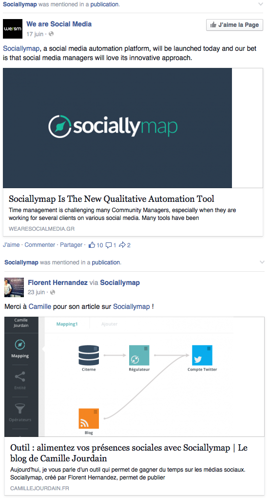 SociallyMap blogs