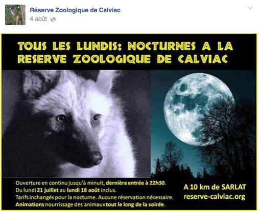 Reserve Zoologique Calviac