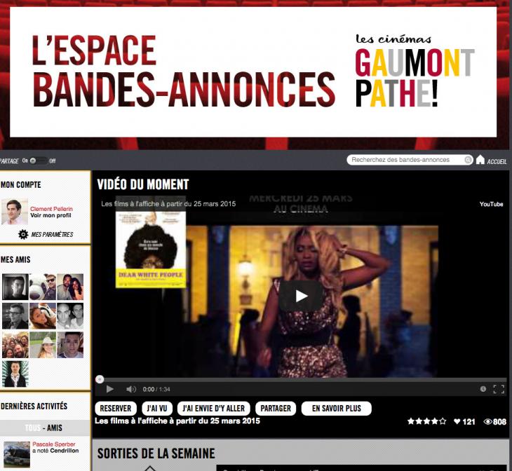 Gaumont - Application Facebook - Formation reseaux sociaux