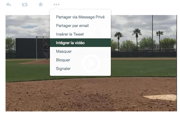 Integration video Twitter - Formation Community Manager