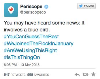 Periscope - Formation reseaux sociaux