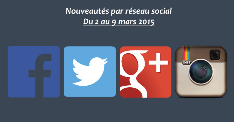 Recapitulatif 9 mars 2015 - Formation Community Manager